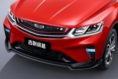 吉利缤越运动款官图曝光 撞色车身/专属车标