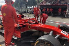 F1比利时站一练:雨水险抢镜 维特尔最快