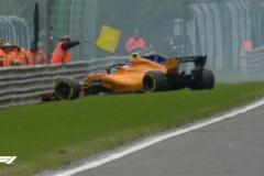 F1比利时站三练:维特尔最快 范多恩撞车