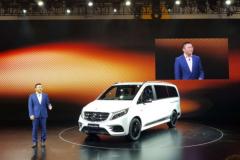 成都车展:奔驰V级AMG运动版售66.80万