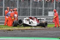 F1意大利站FP2:维特尔最快 埃里克森严重撞车