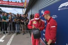 F1意大利站莱科宁杆位 法拉利锁定主场发车头排