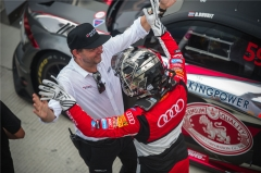 布瑞特·比荣巴迪在奥迪运动R8 LMS杯第六回合比赛中强势夺冠