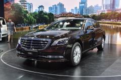 2018成都车展:新款奔驰S级售86.38万起