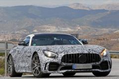奔驰AMG GT R车型谍照曝光 或于年内发布