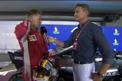 F1新加坡站维特尔:赛车不够快 激进策略没有奏效