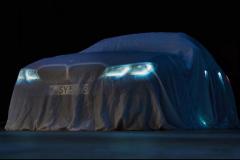 全新宝马3系预告图发布 或巴黎车展亮相