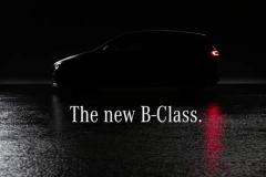新一代奔驰B级预告图发布 不出所料的家族设计