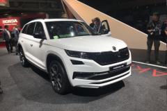 2018巴黎车展:柯迪亚克RS首发亮相