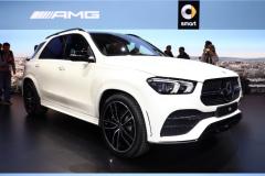 2018巴黎车展:全新奔驰GLE发布