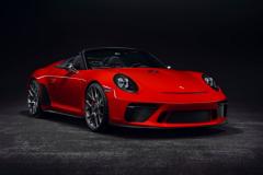 2018巴黎车展:保时捷911 Speedster概念车