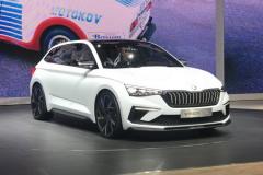 2018巴黎车展:斯柯达VISION RS概念车亮相