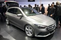 2018巴黎车展:奔驰全新B级正式亮相