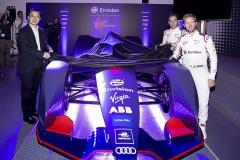 炫酷!远景维珍车队发布FE电动方程式锦标赛第五赛季全新赛车