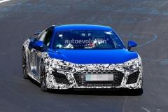 奥迪R8 GT改款车型谍照曝光 预计明年年初亮相