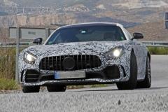 新款奔驰AMG GT谍照曝光 或于明年下半年亮相