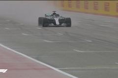 F1美国站FP1雨水搅局 汉密尔顿仍最快