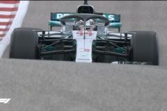 F1美国站排位赛:汉密尔顿杆位 法拉利二三