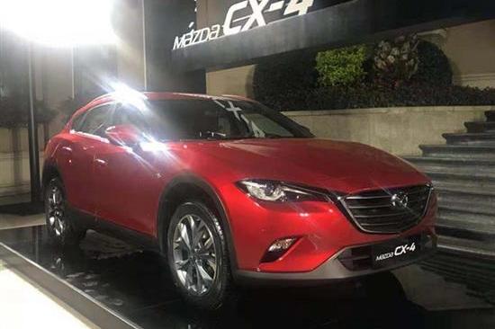 一汽马自达CX-4新车型开卖 四驱18万太值了