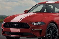 福特野马渲染图曝光 或推四门版车型