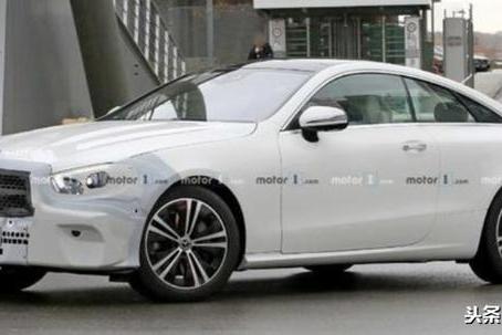 全新奔驰E级轿跑谍照,溜背造型,1.5T+48V主打!或2021年发布