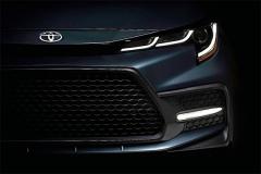 2020款丰田卡罗拉美版三厢车预告图发布 11月15日亮相加州