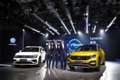 大众品牌SUV数量翻番 2020年将增加到至少12款