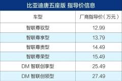 2018年广东车展!比亚迪唐五座版开售,这样的售价你满意吗?
