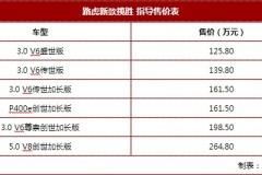 2018广州车展:新款路虎揽胜售125.8万起