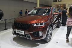 2018广州车展:WEY VV5终结版预售13.50万元