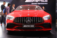 2018广州车展:梅赛德斯-AMG GT四门版亮相