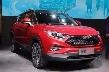瑞风S4广州车展预售,江淮汽车启动梦想之旅