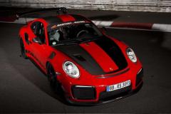 保时捷911 GT2 RS MR谍照再现 纽博格林测试