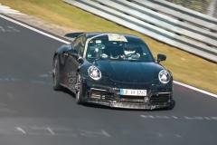 2020款保时捷911 Turbo测试谍照曝光 或于明年正式亮相