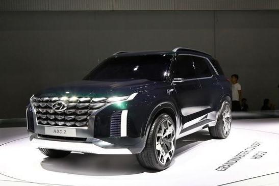5天后正式亮相!现代首款全尺寸旗舰SUV,体型霸气,国产真能比?