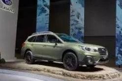 斯巴鲁以强势阵容亮相广州车展  推出傲虎特装版车型