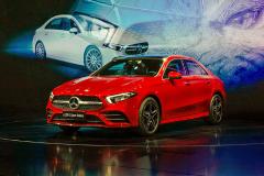 奔驰长轴距A级正式上市 售21.69-29.99万元