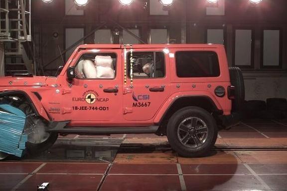 Jeep新牧马人E-NCAP碰撞仅获1星,越野性能强悍,安全性却被打脸