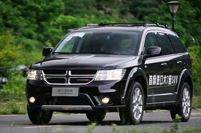 纯正美式大7座SUV,4米9长比汉兰达大一圈,纯进口22万!