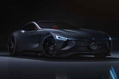 奔驰新一代SLR假想图曝光 外观惊艳