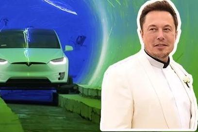 马斯克的超级隧道通车了,钢铁侠真的做到了上天入地