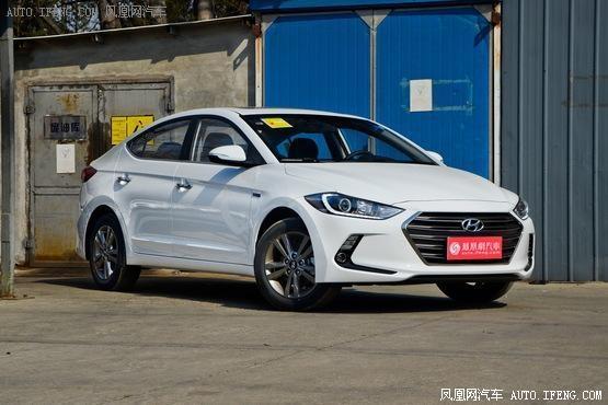 东莞北京现代领动全系降2万元 现车销售