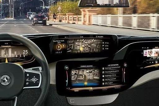 车内大屏还不够?不如把车门也换成3D触控屏吧