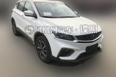 曝吉利缤越HEV版路试照 第二款新能源车型