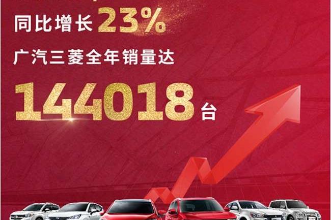 合资品牌增速第一,广汽三菱2019年将挑战20%增长