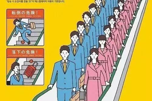 左行右立的扶梯守则都被废掉了,你还认为是中国人的习惯差吗?