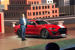 2019北美车展:全新Mustang Shelby GT500发布