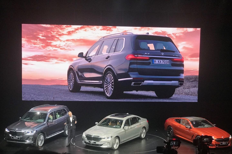 全新宝马X7中国首秀 7座旗舰大SUV 中国即将开卖