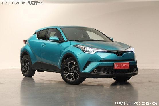 丰田C-HR起售14.48万 日系精品小型SUV