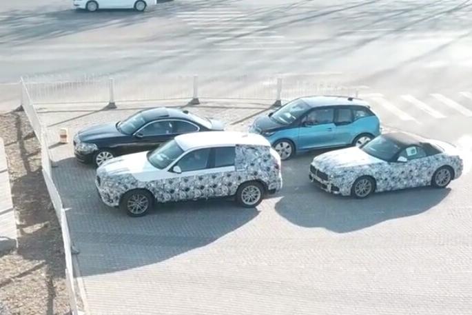 宝马全新X3、Z4、中期改款2系国内路试谍照曝光 今年内上市